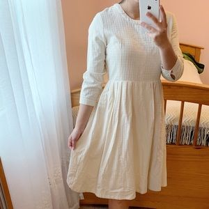New Clad&Cloth Beige Doll Dress / size m
